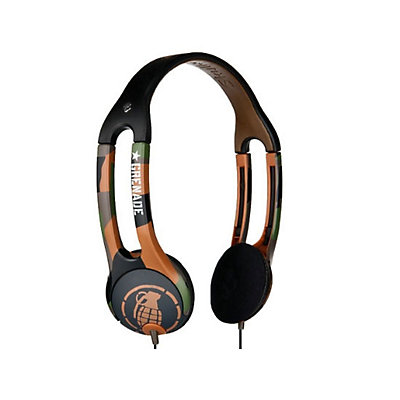 Skullcandy Icon 2 Grenade Headphones, Grenade Army-Camo, large
