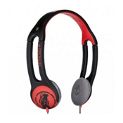 Skullcandy Icon 2 Grenade Headphones, Grenade Black-Red, medium