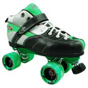 Rock Expression Boys Speed Roller Skates, Green, medium