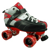 Rock Expression Boys Speed Roller Skates, Red, medium