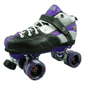 Rock Expression Speed Roller Skates, Purple, medium