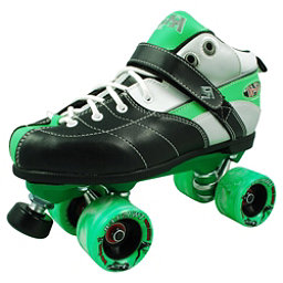 Rock Expression Speed Roller Skates, Green, 256