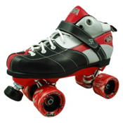 Rock Expression Speed Roller Skates, Red, medium