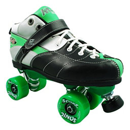 Rock Expression Sonic Boys Speed Roller Skates, Green, 256