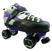 Rock Expression Sonic Speed Roller Skates, Purple, medium