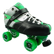 Rock Expression Sonic Speed Roller Skates, Green, medium