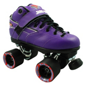 Sure Grip International Rebel Purple Speed Roller Skates, , medium
