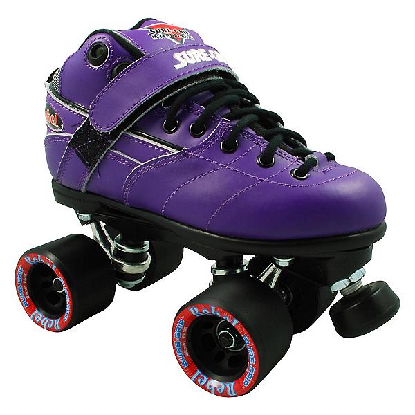 Sure Grip International Rebel Purple Speed Roller Skates, , 600