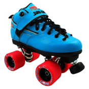 Sure Grip International Rebel Blue Speed Roller Skates, , medium