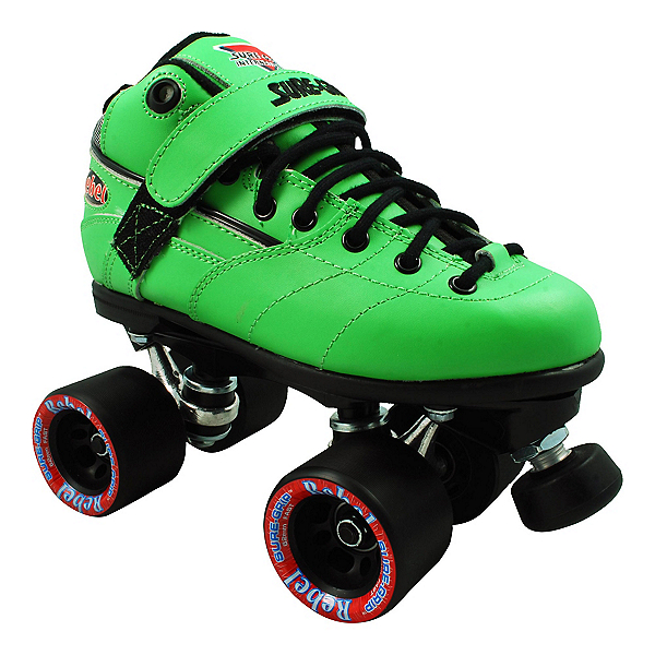 Sure Grip International Rebel Green Speed Roller Skates, , 600
