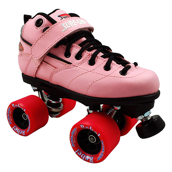 Sure Grip International Rebel Pink Speed Roller Skates, , 600