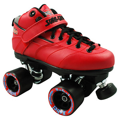 Sure Grip International Rebel Red Speed Roller Skates, , viewer