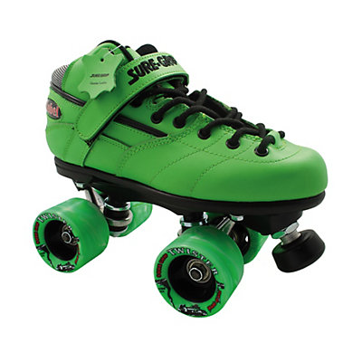 Sure Grip International Rebel Twister Green Speed Roller Skates, , large