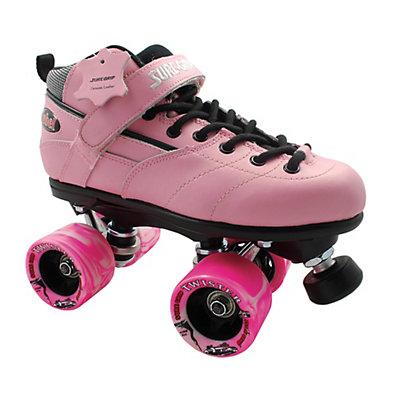 Sure Grip International Rebel Twister Pink Boys Speed Roller Skates, , large