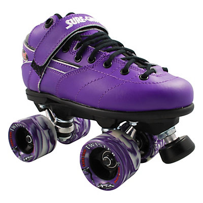 Sure Grip International Rebel Twister Purple Speed Roller Skates, , large