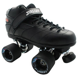 Sure Grip International Rebel Fugitive Boys Speed Roller Skates, Black, 256