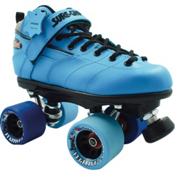 Sure Grip International Rebel Fugitive Speed Roller Skates 2013, Blue, medium