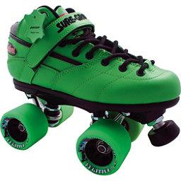 Sure Grip International Rebel Fugitive Boys Speed Roller Skates, Green, 256