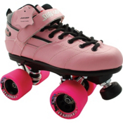 Sure Grip International Rebel Fugitive Boys Speed Roller Skates, Pink, medium