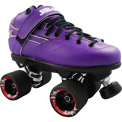 Sure Grip International Rebel Fugitive Boys Speed Roller Skates, Purple, medium