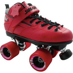 Sure Grip International Rebel Fugitive Boys Speed Roller Skates, Red, 256