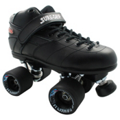 Sure Grip International Rebel Fugitive Speed Roller Skates, Black, medium