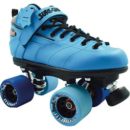 Sure Grip International Rebel Fugitive Speed Roller Skates, Blue, 256