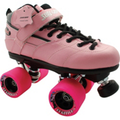 Sure Grip International Rebel Fugitive Speed Roller Skates, Pink, medium