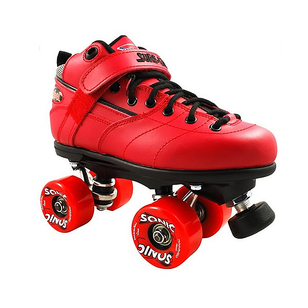 Sure Grip International Rebel Sonic Speed Roller Skates, Red, 600