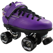 Sure Grip International Rebel Sonic Speed Roller Skates, Purple, medium