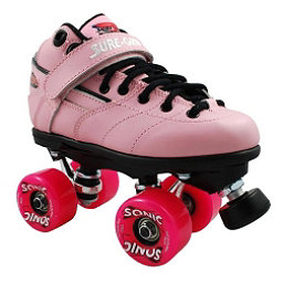 Sure Grip International Rebel Sonic Speed Roller Skates, Pink, 256