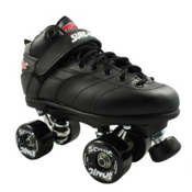 Sure Grip International Rebel Sonic Speed Roller Skates, Black, medium