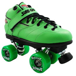 Sure Grip International Rebel Sonic Speed Roller Skates, Green, 256