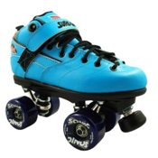 Sure Grip International Rebel Sonic Speed Roller Skates, Blue, medium
