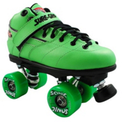 Sure Grip International Rebel Sonic Boys Speed Roller Skates, Green, medium