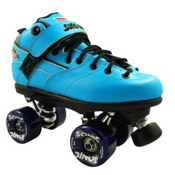 Sure Grip International Rebel Sonic Boys Speed Roller Skates, Blue, medium