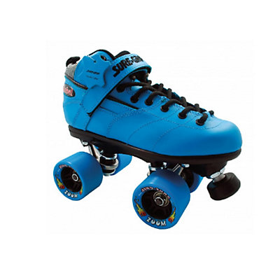Sure Grip International Rebel Zoom Speed Roller Skates, Black, viewer