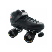 Sure Grip International Rebel Zoom Speed Roller Skates, Black, medium