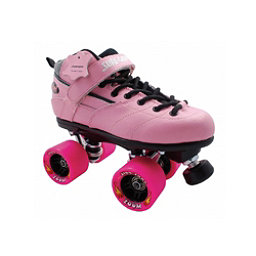 Sure Grip International Rebel Zoom Speed Roller Skates, Pink, 256