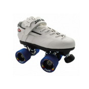 Sure Grip International Rebel Zoom Speed Roller Skates, White, medium