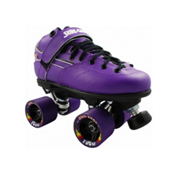 Sure Grip International Rebel Zoom Speed Roller Skates, Purple, medium