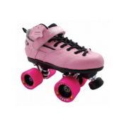 Sure Grip International Rebel Zoom Boys Speed Roller Skates, Pink, medium