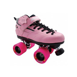 Sure Grip International Rebel Zoom Boys Speed Roller Skates, Pink, 256