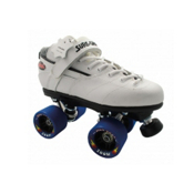 Sure Grip International Rebel Zoom Speed Roller Skates 2013, White, medium