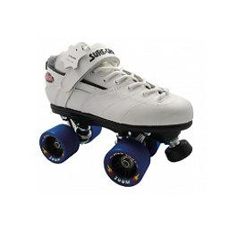 Sure Grip International Rebel Zoom Boys Speed Roller Skates, White, 256