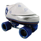 Vanilla Diamond Walker Probe Fly Blue Jam Roller Skates, White-Silver, medium