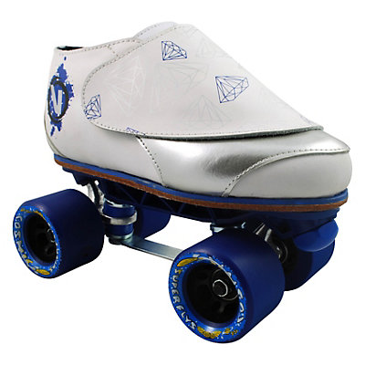 Vanilla Diamond Walker Probe Fly Blue Jam Roller Skates, , large