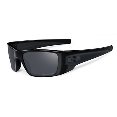 Oakley Fuel Cell Polarized Sunglasses, Matte Black, viewer