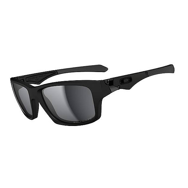 Oakley Jupiter Squared Polarized Sunglasses, Matte Black, 600