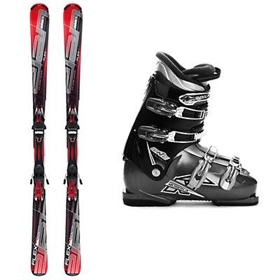 Elan E-Flex 4 Ski Package, , large